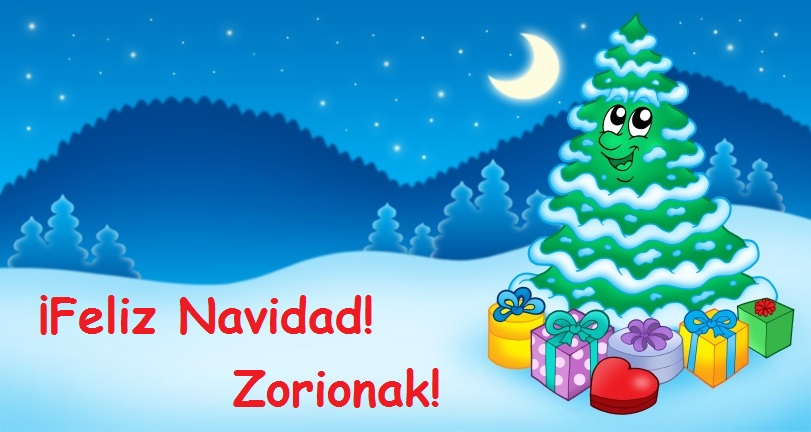 Felicitación de Navidad COLEGIO